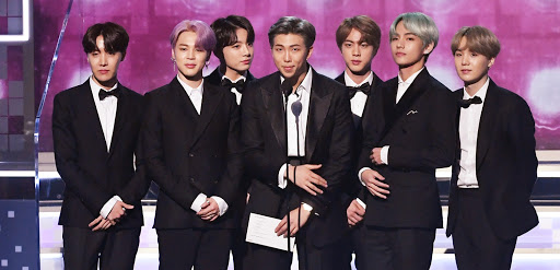 BTS at award show idk which one