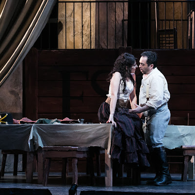 "Abrahamyan's Carmen ""smooth, sexy, and enticing."""