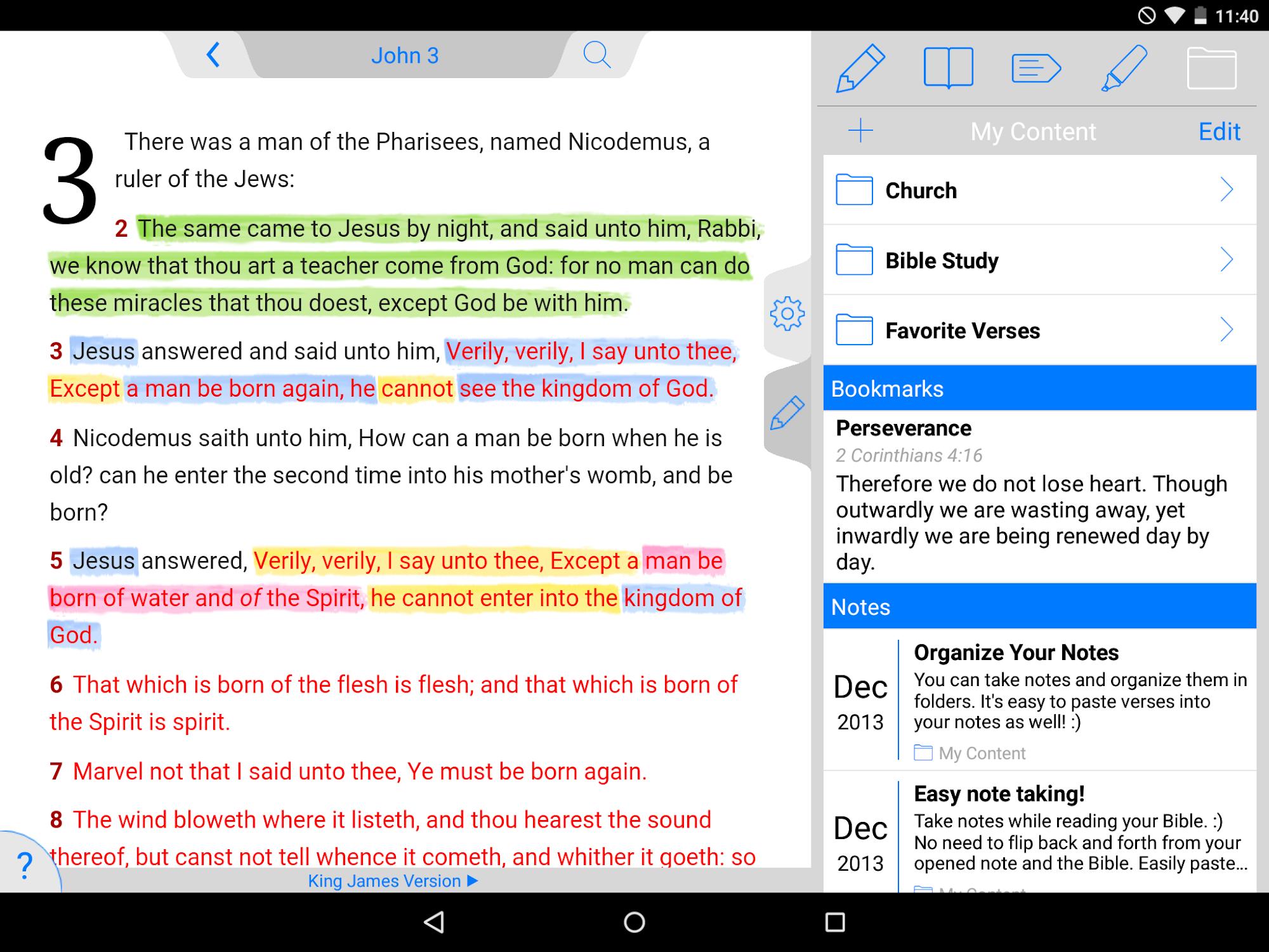 NKJV Bible screenshot #16