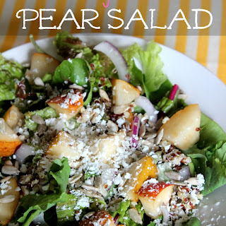 Sweet and Savory Pear Salad