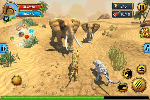 Cheetah Family Sim - Animal Simulator 4.7 screenshots 7