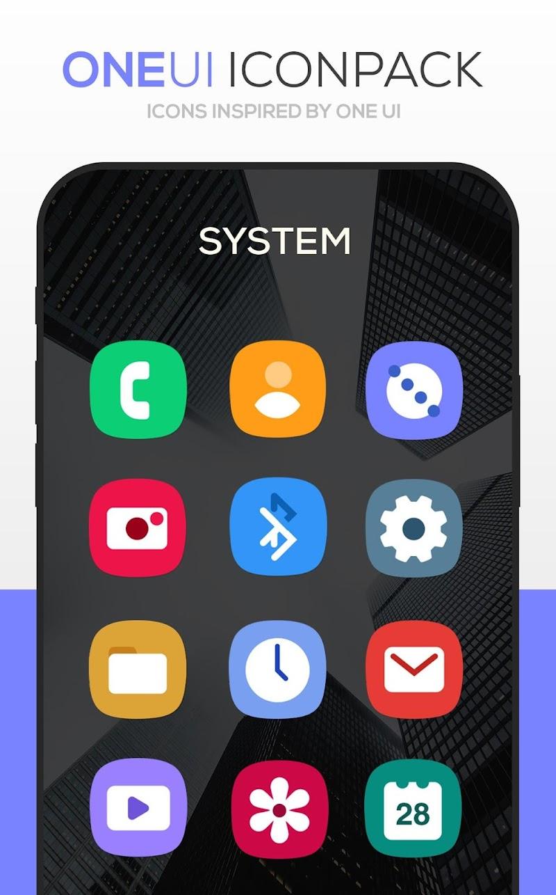ONE UI Icon Pack : S10 Screenshot 1