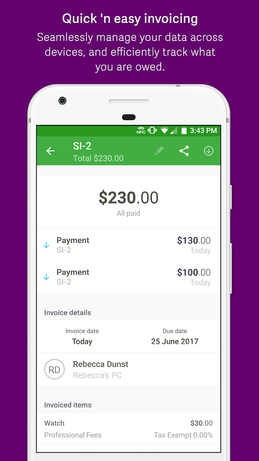 Invoice Place Excel Sage Expenses  Invoices  Android Apps On Google Play What Does Return Receipt Mean In Email Pdf with How To Scan Receipts Into Quickbooks Excel Sage Expenses  Invoices Screenshot Transportation Invoice Pdf