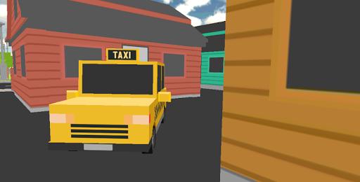 3D Duty Taxi Driver City