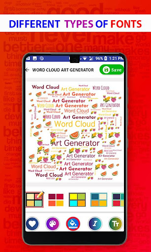Word Cloud Art Generator screenshot 24