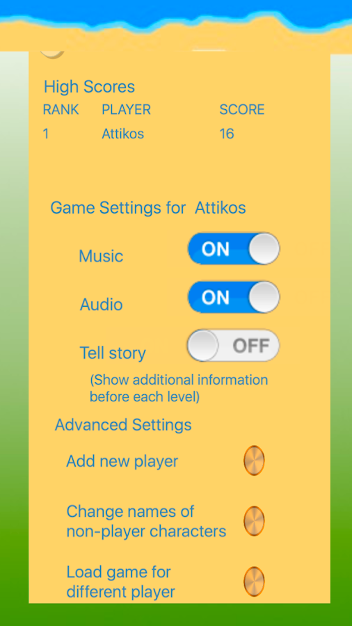 Attikos- screenshot