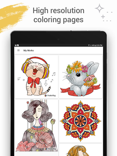 Coloring Fun 2019: Free Coloring Pages & Art games android2mod screenshots 8