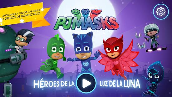 Pj Masks Héroes En Pijamas Moonlight Heroes Apps En