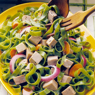 Pork and Pasta Salad.