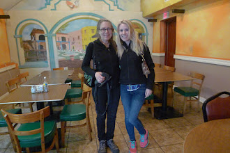 Photo: With Shannon at birthday dinner in Front Royal, VA!