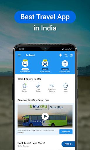 RailYatri - Live Train Status, PNR Status, Tickets screenshot 1