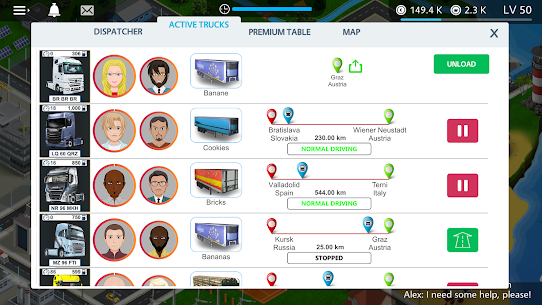 Virtual Truck Manager – Tycoon trucking company 10