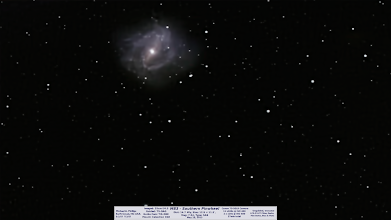 Photo: I had a spot of good weather once this spring in mid-late May and I may not have known it but was working this backlog of images and I think I might be caught up.  I have some reprocess work to do on a previous Saturn. In the meantime, here's the Southern Pinwheel, M83.  It's very low for me and I had to wait until it cleared the trees, shoot for ~45-50min before hitting the trees again.  This is a great galaxy but needs more time and a better camera, the 7D is too noisy! Enjoy!