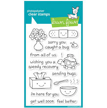 Lawn Fawn Clear Stamps 4X6 - On The Mend