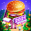 Cooking Marina - fast restaurant cooking games icon