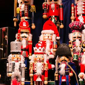 Nutcracker Dolls by Carol Henson - Public Holidays Christmas ( december, nutcracker, market, stall, dolls, 2015, birmingham, christmas, display, nutcracker dolls, flickr 241, booth,  )