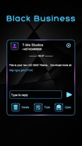 Black Business GO SMS