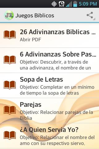 Juegos Biblicos