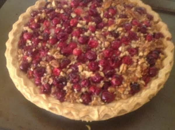 Honey Pecan Cranberry Pie Recipe