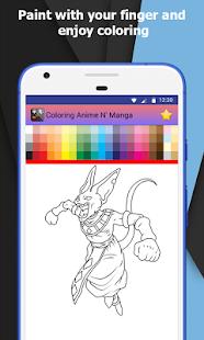 Download Free Anime And Manga X Coloring Book For PC On Windows Mac Apk Screenshot