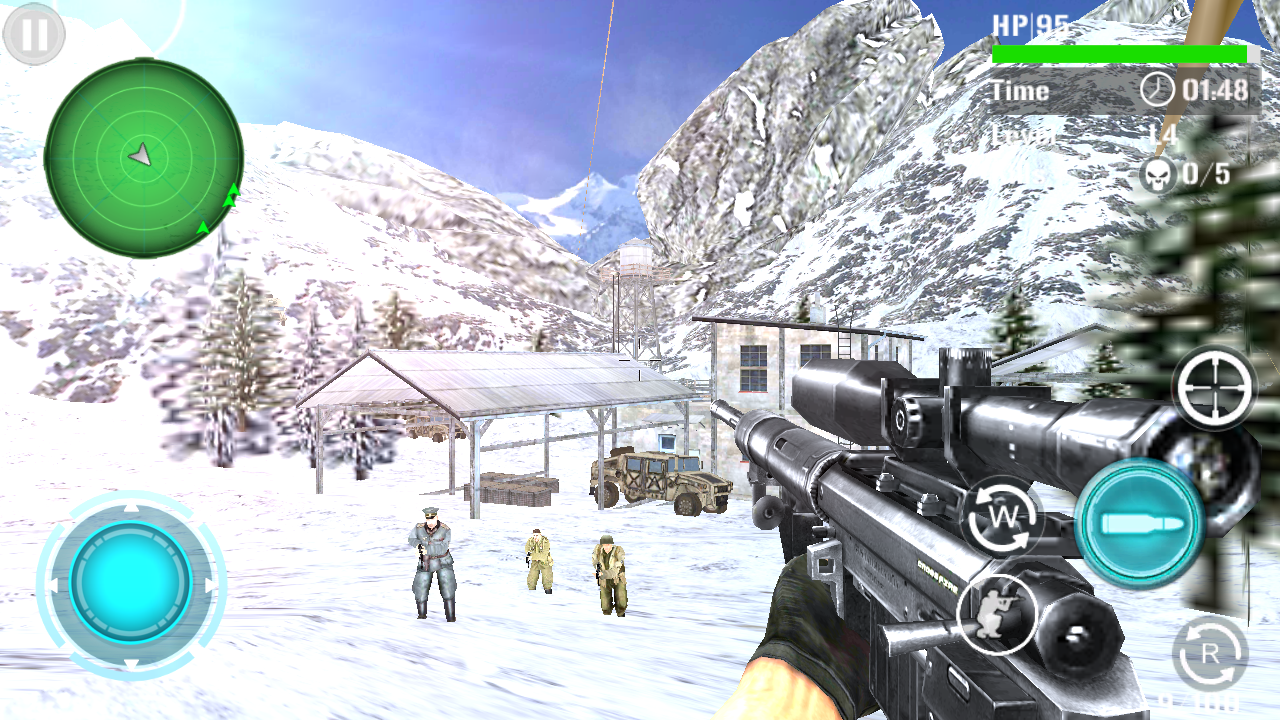 Mountain Sniper Shooting- screenshot