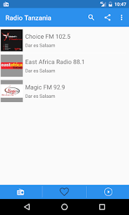 Radio Tanzania Free Online - Fm stations - náhled