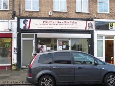 Princess Uni Hair Salon On St Mary S Road Hairdressers In Edmonton London