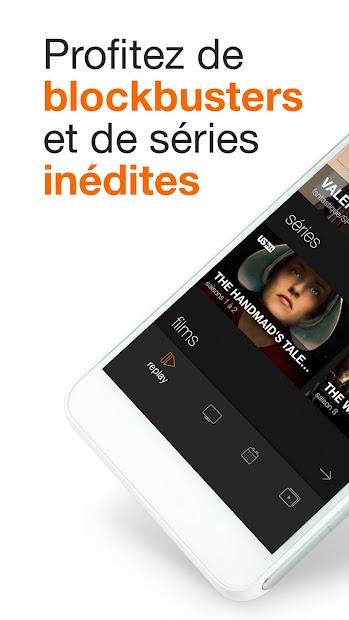 OCS - 100% cinéma séries Android App Screenshot