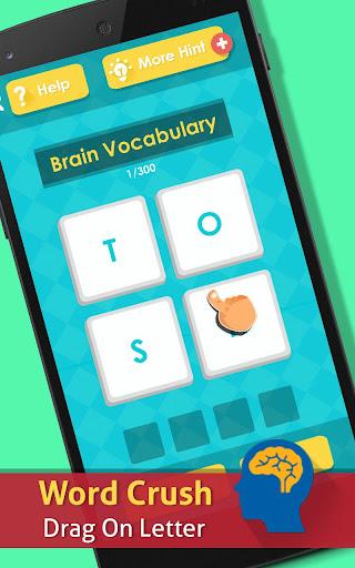 Word Crush : brain puzzle screenshot