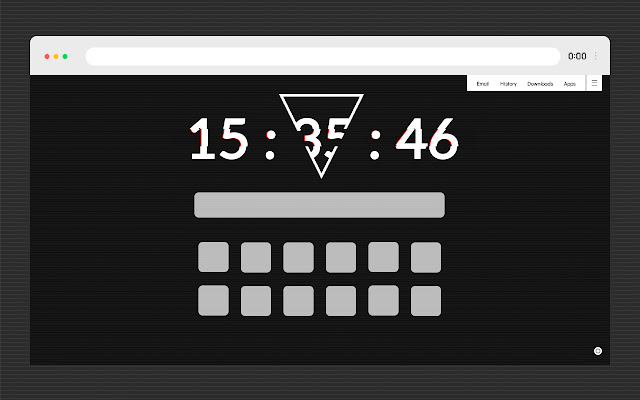 Clock New Tab - Personal Dashboard