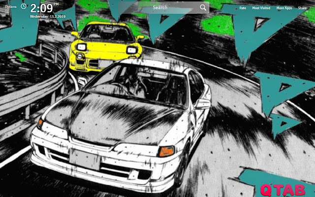 Initial D Wallpapers Initial D New Tab Check out this fantastic collection of initial d wallpapers, with 49 initial d background images for your desktop, phone or tablet. initial d wallpapers initial d new tab