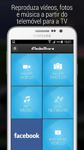 iMediaShare – Fotos e Música screenshot 1