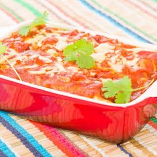 4. Black Bean Enchilada Casserole.