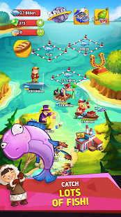 Idle Fishing Empire - Fish Tycoon Clicker PRO Screenshot