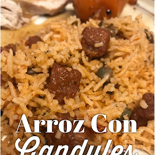 Arroz Con Gandules (Rice with Pigeon Peas).