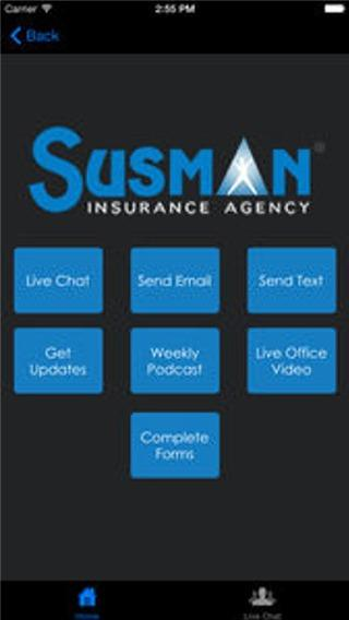 Susman Insurance- screenshot