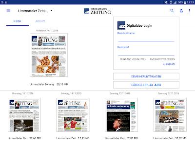 az Limmattaler Zeitung E-Paper screenshot 5