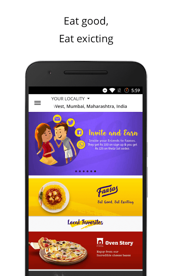 FAASOS - Order Food Online- screenshot