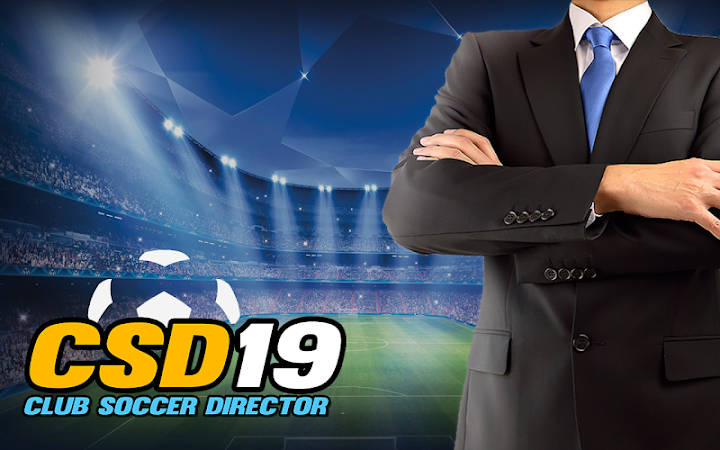 Club Soccer Director 2019 Android App Screenshot