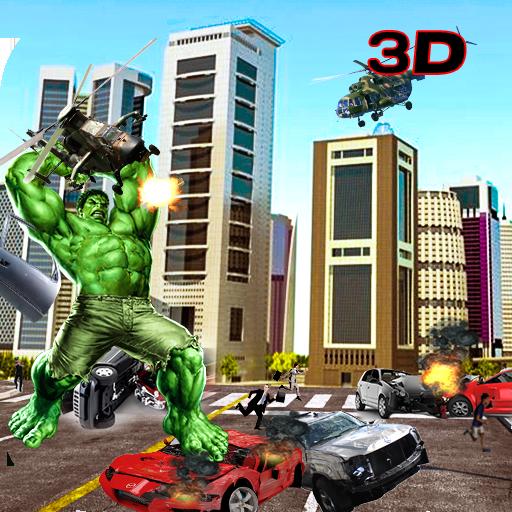 Monster Hero Grand City in Battle