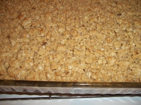 Crumble remaining oatmeal mixture over the top of the caramel. Bake for 15 minutes....