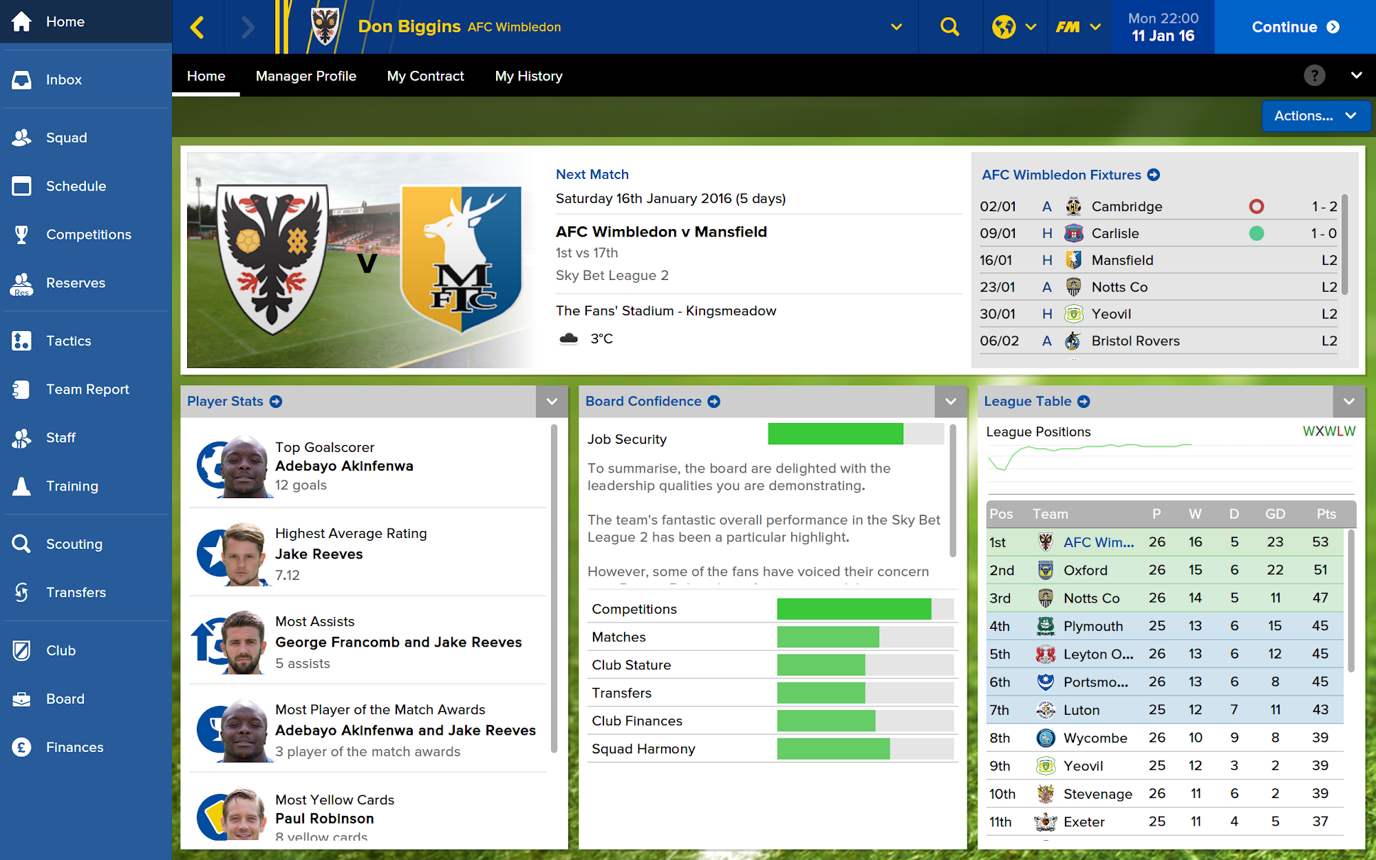 Football Manager Touch 2016 screenshot #3