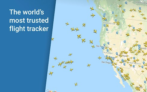Flightradar24 Flight Tracker Mod Apk – For Android 8