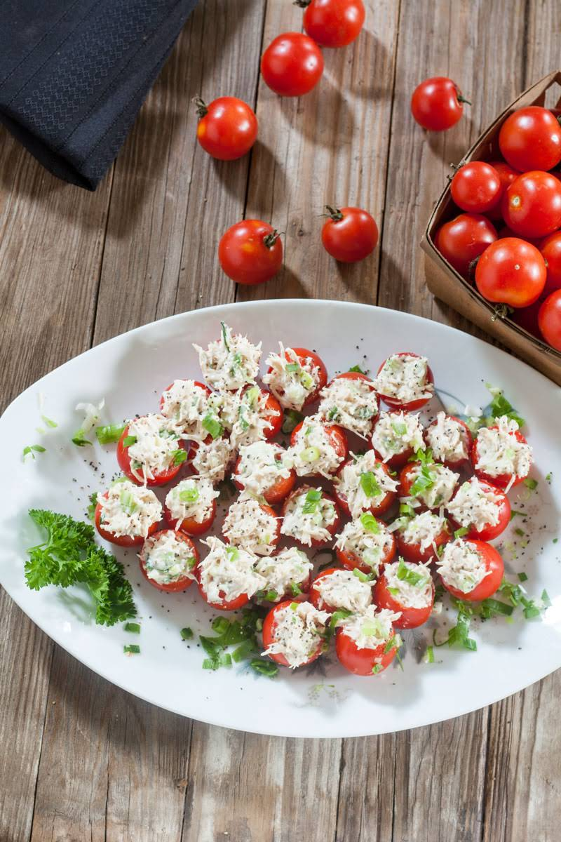 10 Best Stuffed Cherry Tomato Appetizer Recipes