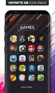 Infinite S8 Icon Pack Screenshot