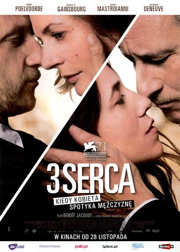Przód ulotki filmu '3 Serca'