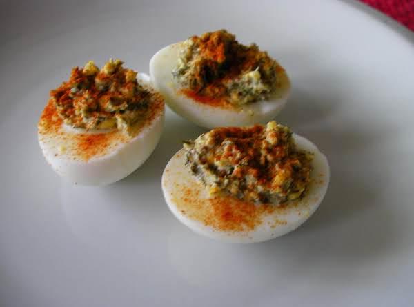 Smoky Deviled Eggs Recipe