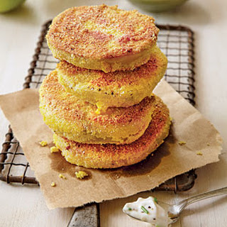 Fried Green Tomatoes with Garlicky Rémoulade