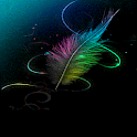 Colorful Wing Shine LWP icon