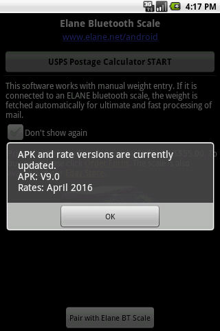 Postage Calculator USPS- screenshot